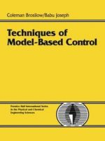 Techniques of Model-Based Control_brosilow