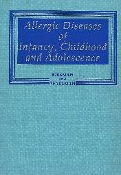 Allergic diseases of infancy, childhood and adolescence